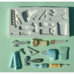 DIY, 11 olika motiv (silikonform)