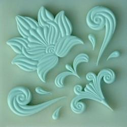 Floral Elements, silikonform