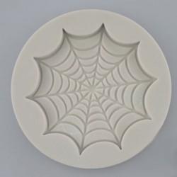 Spindelnät, cupcake-lock (silikonform)