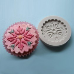 Cupcake Topper No 1, silikonform
