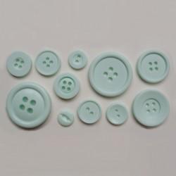 Knappar (11 olika), silikonform