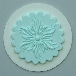 Cupcake Topper No 6, silikonform