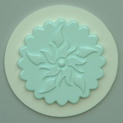 Cupcake Topper No 8, silikonform