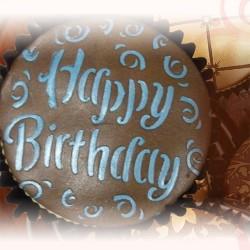 Happy Birthday, schablon