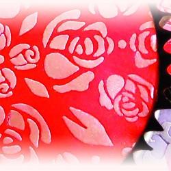 Rose Buds, schablon