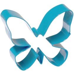 Fjäril, utstickare (blå)