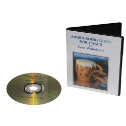 Airbrushing Ideas for Cakes, DVD