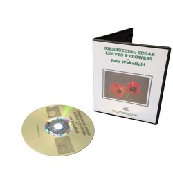 Airbrushing Sugar Leaves & Flowers, DVD