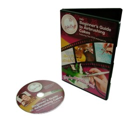 Beginner's Guide to Airbrushing Cakes, DVD