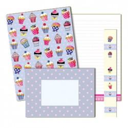Cupcakes, brevpapper