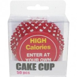HIGH Calories, 50 st muffinsformar