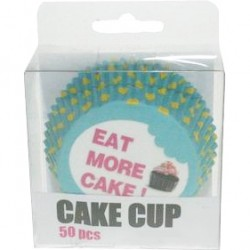 Eat More Cake, 50 st muffinsformar