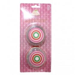 Circle Stripes, 50 st muffinsformar