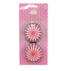 Polka Stripes, 50 st muffinsformar