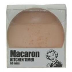 Macaron, krämgul kökstimer