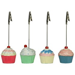 Meny- /Placeringshållare, 4 st cupcakes