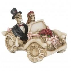 Til Death Do Us Part, brudpar i bil