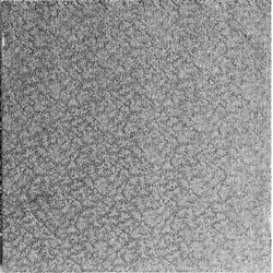 Kvadrat, silver 25 cm