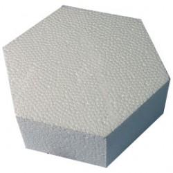Hexagon dummy, 17 X 15 cm