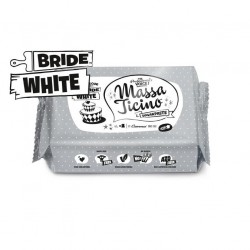 Sockerpasta, vit 1 kg (Bride White)