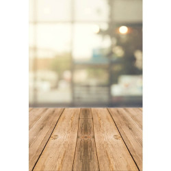 Light Reflections with Wooden Floor, backdrop - S