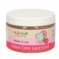 Cake Lace, 120g (gold) FC