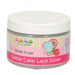 Cake Lace, 120g (silver) FC