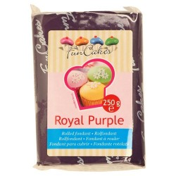 Sugarpaste m vaniljsmak, mörklila 250g (Royal Purple)