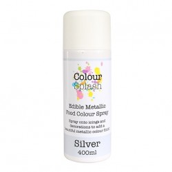 Metallic Food Spray, silver-400 ml