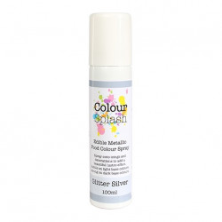 Metallic Food Spray, glitter silver (100 ml)