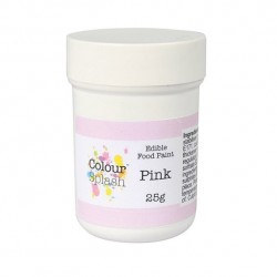 Pink, food paint (CS)