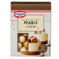Guld, ätbara chokladbollar (Gold - DrO)