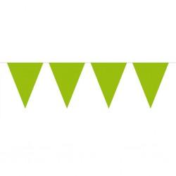 Vimpel, 10 m (limegrön)