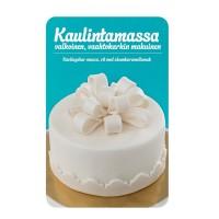 BF 20180607 - Sugarpaste m marshmallowsmak (MMF), vit 1 kg (Conf)