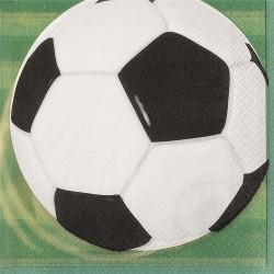 Fotboll, 16 st servetter