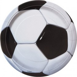 Fotboll, 8 st tallrikar
