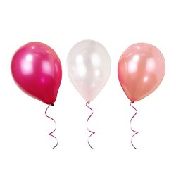 Perfectly Pink, 12 st ballonger