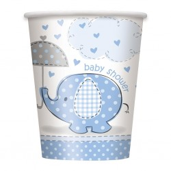 Umbrellaphant - Blue, 8 st muggar