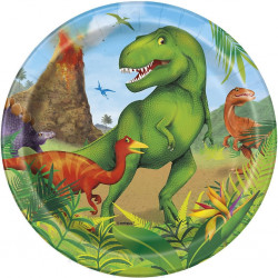 Dino, 8 st tallrikar