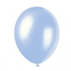 Ballonger, 8 st ljusblåa (Sky Blue)