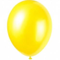 Ballonger, 8 st gula (Cajun Yellow)