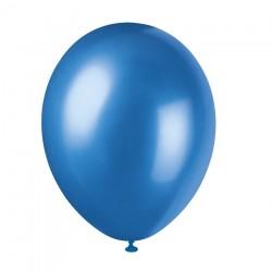 Ballonger, 8 st mörkblåa (Cosmic Blue)
