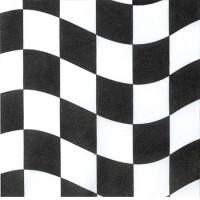 Schackrutig, 18 st servetter