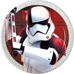 Star Wars, 8 st flerfärgade tallrikar