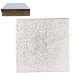 Kvadrat, silver 35 cm (25-pack)