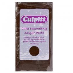 Sugarpaste, brown 250g (chokladsmak)