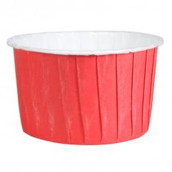 Röda, 24 st muffinskoppar