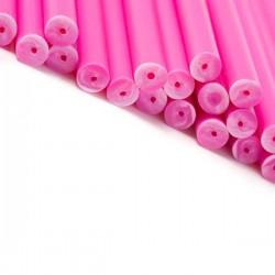 Klubbpinnar 15 cm, 20 st - rosa