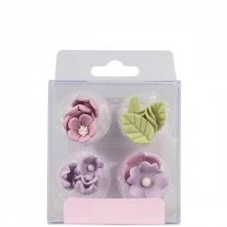 Blommor, ätbara dekorationer (lilac)