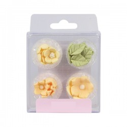 Blommor, ätbara dekorationer (lemon)
